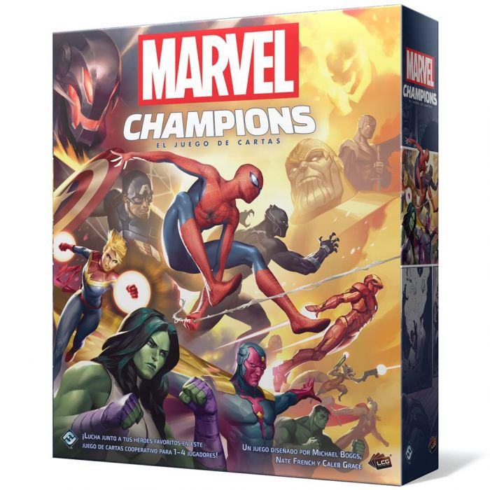 marvel champions reseña
