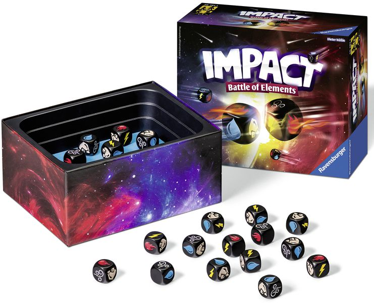 Impact, Battle of Elements juego de mesa
