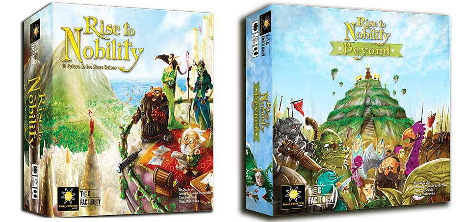 rise to nobility novedad