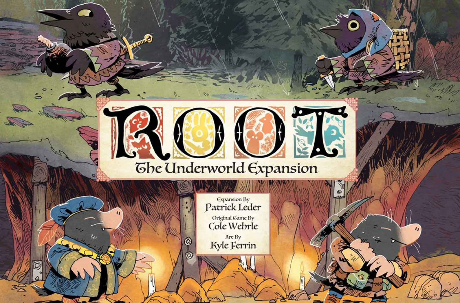 root the underwater expansion