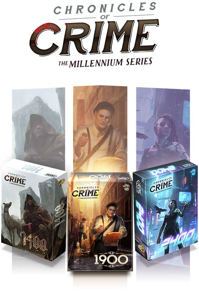chronicles of crime the millenium series